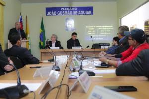 Audiência pública em Manaquiri